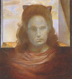 Portrait of Gala (Gala Against the Light), 1965  Salvador Dali