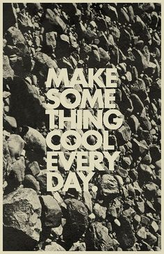 Mark Weaver Make Something Cool Every Day