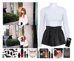 """""""Out with Lisa"""" by yoonkimin ❤ liked on Polyvore featuring GEDEBE, Lancôme, Sulwhasoo, SkinCare, shu uemura, Givenchy and Topshop"""