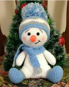 Crochet Patterns Snowman Crochet Pattern – CK Crafts - Claire C. Crochet Patterns Snowman Crochet Pattern – CK Crafts - Always aspired to discove. Crochet Snowman, Christmas Crochet Patterns, Holiday Crochet, Crochet Toys Patterns, Crochet Gifts, Cute Crochet, Amigurumi Patterns, Stuffed Toys Patterns, Crochet Dolls