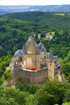 Vianden Castle, Vianden, Luxembourg