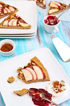 Gluten-Free & Vegan Nutty Apple Tart / 23 Gluten-Free Desserts