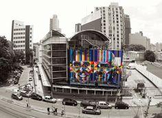 Mural finalizado de Eduardo Kobra (foto: Air Elements)