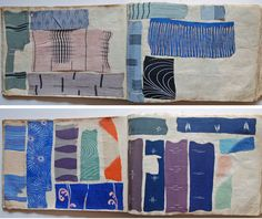 1930s Japanese YUZEN Dyeing Kimono Sample Book