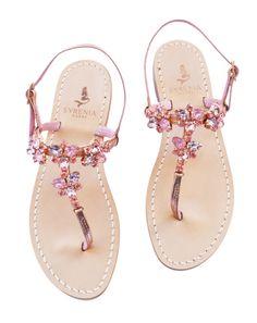 Toe Ring Sandals, T Strap Sandals, Toe Rings, Flip Flop Sandals, Flip Flops, Cute Shoes, Me Too Shoes, Pink Summer, Wedding Shoes