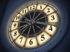 Clock in the movie Hugo.