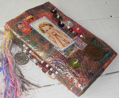 art - Candy Wrapper Journal by Jennibellie, blog http://jennibelliestudio.blogspot.com