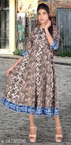 Kurtis & Kurtas SS SANGANERI Printed Rayon Kurti Fabric: Rayon Sleeve Length: Three-Quarter Sleeves Pattern: Printed Combo of: Single Sizes: S (Bust Size: 36 in, Size Length: 50 in)  XL (Bust Size: 42 in, Size Length: 50 in)  L (Bust Size: 40 in, Size Length: 50 in)  M (Bust Size: 38 in, Size Length: 50 in)  Country of Origin: India Sizes Available: S, M, L, XL   Catalog Rating: ★4.3 (630)  Catalog Name: Chitrarekha Voguish Kurtis CatalogID_2925177 C74-SC1001 Code: 307-14736596-8091