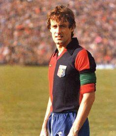 Roberto rosato , anni 70 Genoa Cfc, Cricket, 1970s, Club, Red, Faces