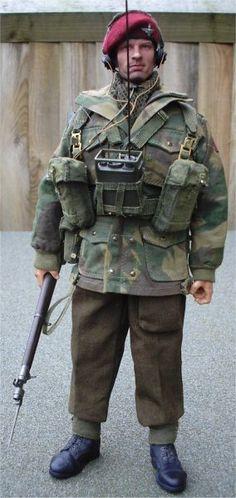 British Paratrooper Uniform 62