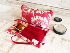 Best Friend Gift Make up bag cosmetics storage by olganna on Etsy