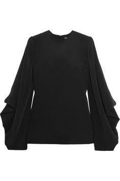 TOM FORD DRAPED SILK-CADY BLOUSE USD980 http://www.theoutnet.com/product/751871