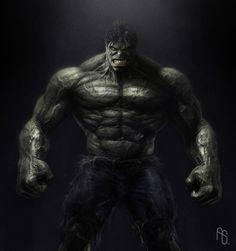 Hulk Body, The Incredible Hulk by ~aaronsimscompany