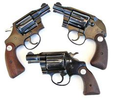 When Cops Carried Revolvers . Colt .38 Special snubnose revolvers (clockwise from top left): alloy-framed Cobra, Detective Special with factory installed hammer shroud and alloy-framed Agent. All were popular for plainclothes, undercover and off-duty law enforcement use.