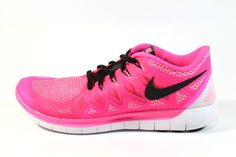 Nike Women's Free 5.0 2014 Pink Pow/Black Running Shoes 642199 603 #Gorgeousness #Ilovepink #Sneakers #Running #Nike #Womens #Free #Shoes #Shopsneakerkingdom  www.sneakerkingdom.com