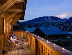 View of Mont Blanc from Exclusive Resorts Megève Chalet