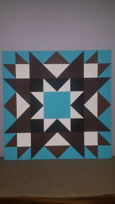 Barn Quilt by 3PerfectPeasInAPod on Etsy Barn Quilt Designs, Barn Quilt Patterns, Quilting Designs, Quilting 101, Quilting Ideas, Block Patterns, Barn Signs, Rustic Signs, Wooden Signs