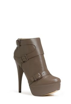 PARIS - A platform bootie so chic, we just had to name her after the French fashion capital. Boasts buckle details and luxe, smooth material. Price $39.95