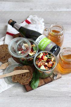 Salade gourmande pour Pique-Nique coloré - Bonjour Darling