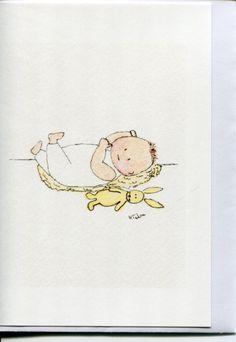 No 32 - Newborn baby card.