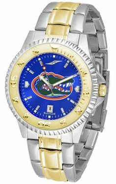 Florida Gators- University Of Competitor Anochrome - Two-tone Band - Men's - Men's College Watches by Sports Memorabilia. $95.43. Makes a Great Gift!. Florida Gators- University Of Competitor Anochrome - Two-tone Band - Men's