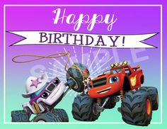Starla & Blaze and the Monster Machines Theme by CreativeCucina