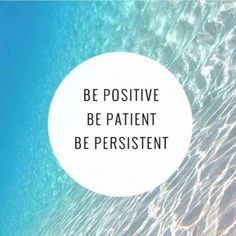 Be positive, be patient, be persistent! #positivity #blogger #personalshopper #personalstylist #model #ruthmelanie #lifestyle
