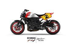 yamaha FZ1 Street Tracker design by Greasergarage - Matteo Scarsi #motorcycles #streettracker #motos | caferacerpasion.com