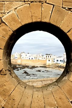 City behind the wall, Essaouira, Morocco by ucmediaproducties, via Flickr