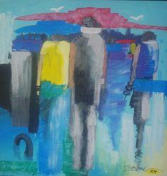 Pintura de joao timane. Arte africana em pintura timaneana. Best young african artist.