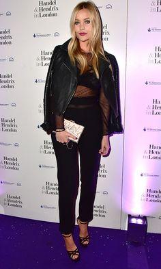 Laura Whitmore Makes Sheer Look Cool