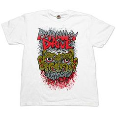 Parkway Drive - Boogerman on White - T-shirts - Official Merch - Powered by Merch Direct