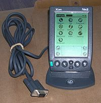 I quickly fell in love with the PalmPilot and the whole PDA thing. Eventually made a set of AppleScripts to try to turn my iPod into a half-baked Palm.