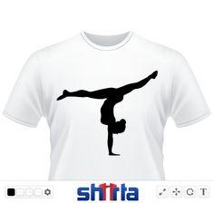 Schwarze Figur einer Akrobatin, die auf einer Hand stehtAkrobatik, Akrobatin, Handstand, Frau, Mädchen, Sport, Turnen, Auftritt, Gymnastik Kunstturnen, kunstturnerin turnen, turnerin, akrobatik gymnast, gymnastics gymnast, gymnastics