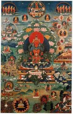 The Pure Land of Buddha Amitayus