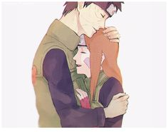 obirin month | week 3; coming home [after a long mission AU] by neimana tumblr #rin #obito #obirin
