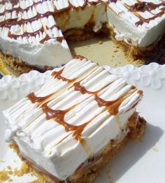 Greek Sweets, Greek Desserts, Cold Desserts, Greek Recipes, Delicious Desserts, Dessert Recipes, The Kitchen Food Network, Food Gallery, Food Network Recipes