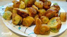 Pongyolás kelbimbó   Nosalty Cod Fish, Nutella, Sprouts, Tapas, Main Dishes, Potatoes, Vegetables, Ethnic Recipes, Food