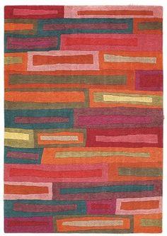 """Alfombra """"Bricks"""" de Brink&Campaman. Encuentralo en Alboroque Decoración.  www.alboroquedecoracion.com"""
