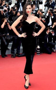 Adriana Lima from Stars at the 2015 Cannes Film Festival