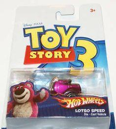 Disney Pixar Toy Story 3 Hot Wheels Lotso Speed by Mattel. $9.99. Disney Pixar Toy Story 3 Hot Wheels Lotso Speed. Disney Pixar Toy Story 3 Hot Wheels Lotso Speed