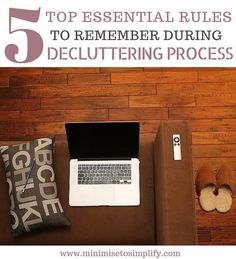 TOP 5 ESSENTIAL RULES TO REMEMBER DURING DECLUTTERING PROCESS