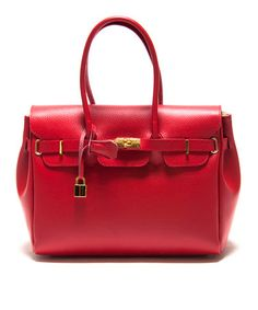 Take a look at this Red Belt Bag by Roberta Minelli on #zulily today!
