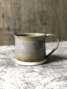 Ceramic Coffee Cups, Creamy White, Moscow Mule Mugs, Freezer, Cocoa, Stoneware, Microwave, Dishwasher, Handle