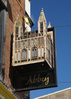 Pub Sign: The Abbey, Northgate Street, Gloucester