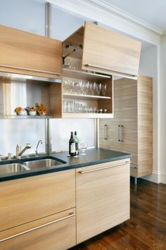 Cambridge Contemporary Kitchen - modern - kitchen - boston - LDa Architecture & Interiors