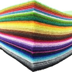 #moda The kind of Craft Felt is wonderful for all levels of crafters, from beginner to advanced crafters. Made #from synthetic fibers and #with a higher density t...