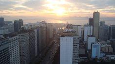 Amanhecer Centro da Cidade - Rio de Janeiro