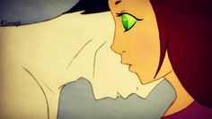 Explore the RobStar collection - the favourite images chosen by TarelElenar on DeviantArt. Old Teen Titans, Original Teen Titans, Teen Titans Starfire, Nightwing And Starfire, Robin The Boy Wonder, Raven Beast Boy, Kid Flash, Making Love, Passionate Love
