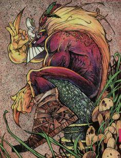 DeviantArt - The Largest Online Art Gallery and Community Comic Books Art, Comic Art, The Maxx, Comic Tattoo, Nerd Art, Comic Pictures, Funky Art, Comic Styles, Image Comics